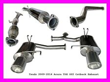 Tsudo 2009 2010 2011 2012 2013 2014 Acura TSX Dual SP2 Catback Test pipe Exhaust