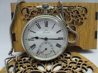 VERY RARE VINTAGE Pocket Watch Perseo Movement Mechanical Manual WINDING Swiss M