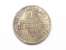 H539     PREUSSEN 1 Silbergroschen 1865 A