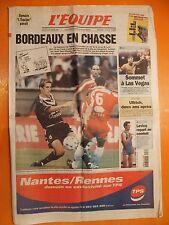 L'équipe 16599 du 18/9/1999-Bordeaux en chasse-Oscar De La Hoya-Felix Trinidad