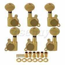 Gold Guitar String Tuning Pegs Tuners Machine Heads 3L/3R
