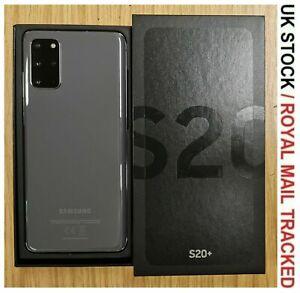 Samsung Galaxy S20+ Plus 128GB SM-G985F/DS Dual-SIM Grey Unlocked - Grade A