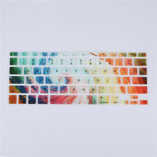 """3D Painting Silicone Keyboard Skin Cover For Apple Macbook Air Mac 13""""15""""17"""""""