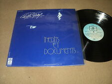 """@ EDITH PIAF 33 TOURS LP 12"""" FRANCE INEDITS ET DOCUMENTS - EDITION NUMEROTEE"""