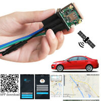 Diebstahlsicherung Auto GPS Tracker Ortungsrelais 2G GSM GPRS Handy APP 10-50V