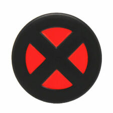 X-Men Logo Belt Buckle Red Black Deadpool Shield Marvel Cyclops Comic Cool Metal