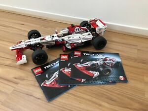 Lego 42000 Technic Grand Prix Racer F1 Formula 1-100% Complete With Instructions