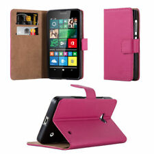 Fundas y carcasas lisos de piel color principal rosa para teléfonos móviles y PDAs