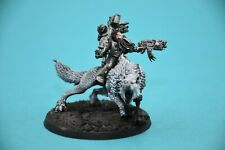 Warhammer 40k Space Wolves Iron Priest on Thunderwolf Lot1