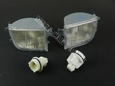 VW PASSAT B4 1994 - 1996 FRONT PAIR BUMPER INDICATOR LIGHT LENS SET LEFT + RIGHT