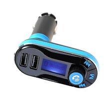 Wireless MP3 LCD Trasmettitore FM Radio USB AUTO KIT CARICATORE LETTORE MUSICALE