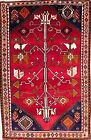 Hand-knotted Rug (Carpet) 4X6'3, Shiraz mint condition