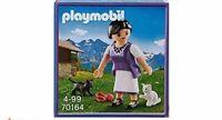 Playmobil Milka Bäuerin mit Kätzchen 70164 Neu & OVP Promotion Sonderedition