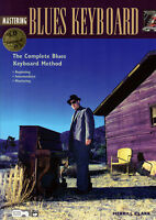 MASTERING BLUES KEYBOARD Piano Sheet Music Book & CD Learn To Play Shop Soiled