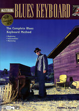 MASTERING BLUES KEYBOARD Piano Sheet Music Book & CD Learn To Play ShopSoiled