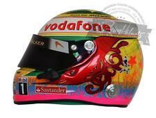 Lewis Hamilton 2012 Interlagos Formula 1 F1 Replica Helmet Scale 1:1 Helm Casque