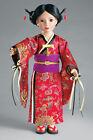 "Doll Clothes SLIM 18"" Japanese Kimono  Dress Fits 18"" SLIM Dolls"