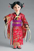 "Doll Clothes SLIM 18"" Carpatina Original Dress Japanese Kimono Fits 18"" Dolls"