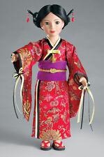 "Doll Clothes Carpatina Original Dress Japanese Kimono Fits Slim 18"" Dolls"
