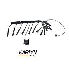 BMW E28 E30 Spark Plug Wire Set w/ Pick Up Lead 12 12 1 714 154