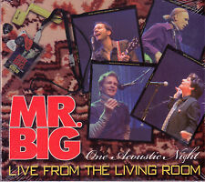 Mr. Big Live From The Living Room One Acoustic Night Cd Sigillato Sealed