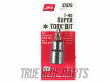 Lisle Tools 37670 T40 Super Torx Bit 3/8 Drive