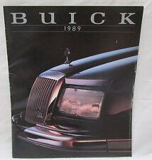 Vintage 1989 Reatta Riviera Elektra Park Avenue LeSabre Buick Color Brochure