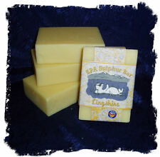Citrus Basil _ Lingshire SPA Sulphur Mineral Soap Made in Montana_Handmade