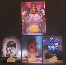 GET BOTH 2008 SERIES MARVEL MASTERPIECES COMIC TRADING CARD SETS