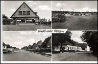MEYN ~1950/60 Mehrbild-AK ua. Spar-Geschäft Dorfstrasse