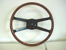 Mahagoni Holz-Lenkrad Porsche 911 F T E S RS 40cm steering wheel neu 90134708201