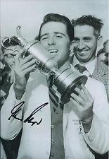 Gary PLAYER SIGNED Autograph Photo AFTAL COA Golf OPEN Winner Muirfield 1959