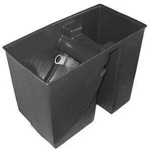 Teichfilter mit 200µ Edelstahl Spaltsieb/Bogensieb Vorfilter (Vortex) schwarz