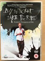 Comprare The Ticket Take The Ride DVD Cacciatore S.Thompson On Film Documentario