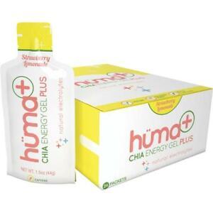 Huma Gel 200930 Strawberry Lemonade Energy Gel