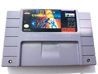 Street Combat SUPER NINTENDO SNES GAME Tested + Working & Authentic!