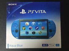 Sony PS Vita PCH-2000 ZA23 Blue Console Wi-Fi Japan domestic version F/S NEW