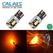 2X LED T10 W5W Amber CANBUS Car Auto Clearance Light lamp 12V 24V Exterior Bulb