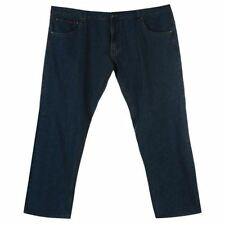 pierre cardin größe large plus herren denim jeans 5 taschen blau 52 r b322-5