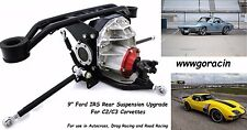"""1963-1979 C2/C3 Corvette Track 1 9"""" Ford IRS Rear Suspension by Ridetech,Currie*"""