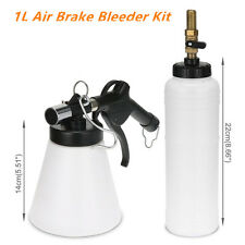 1L Air Brake Oil & Fluid Extractor Bleeder Kit Pneumatic Clutch Vacuum Hydraulic