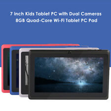 """Newest 7"""" Tablet PC for kids Android 4.4 QUAD CORE 8+32GB WIFI Dual Cameras T4V1"""