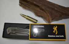 Brand New Browning Sharp Stainless Steel Blade Folding Pocket Knife Dagger