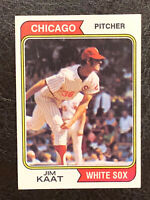 1974 Topps Jim Kaat Card #440 NM Chicago White Sox