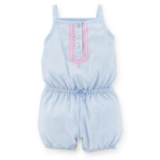 Carter's Girl's Sleeveless Poplin Romper 3 Months New with Tag