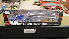 DCP#30712 California Truck Lines PETE 379 SEMI CAB TRUCK CHEMICAL TRAILER 1:64/