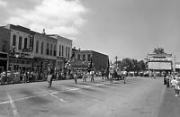 "Parade in Clinton, Missouri Old Photo 11"" x 17""  Reprint"