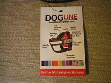 Dogline Unimax Multipurpose Harness Seizure Alert Patches Small Black