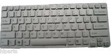 New Silver Keyboard For Sony Vaio VPCCA VPC-CA VPCCA36 VPCCA38 US 9Z.N6BBF.B01