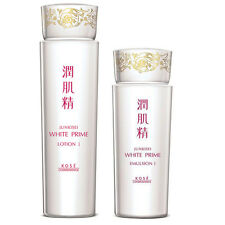 [KOSE JUNKISEI] White Prime Moisturizing Brightening Lotion I & Emulsion I Set